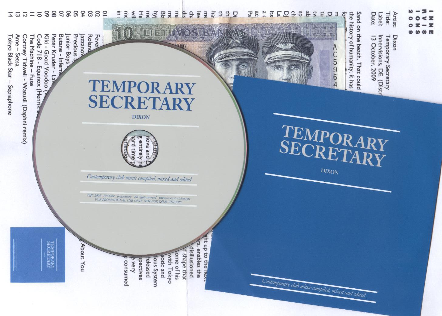 Dixon_Temporary_Secretary_promo