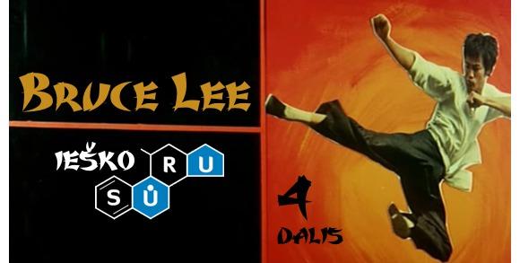 Bruce Lee ieško SŪRU – 4 dalis