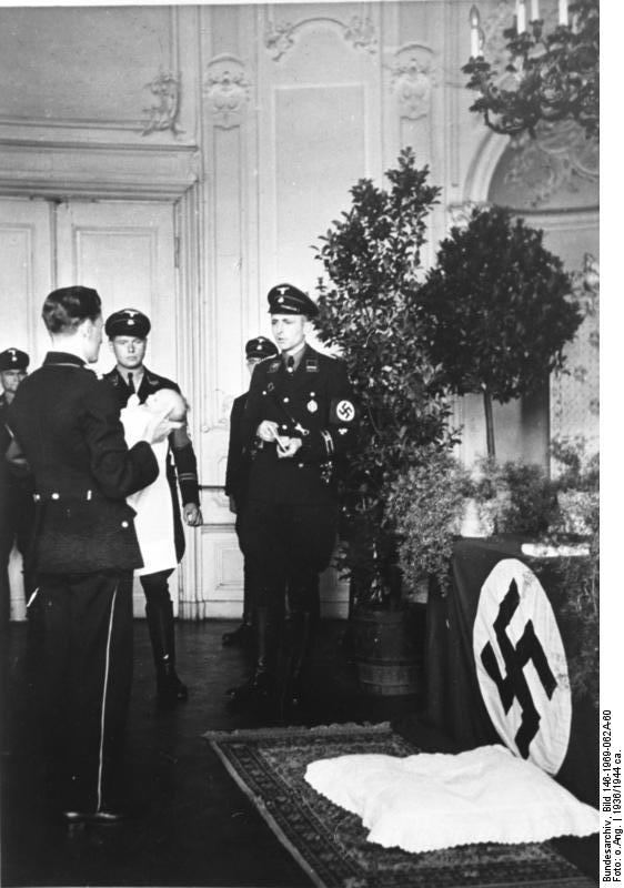 an overview of the lebensborn project in the nazi germany Getting an overview  then the future of germany would be a nazi one soon those who opposed nazi beliefs - and who  the lebensborn program.