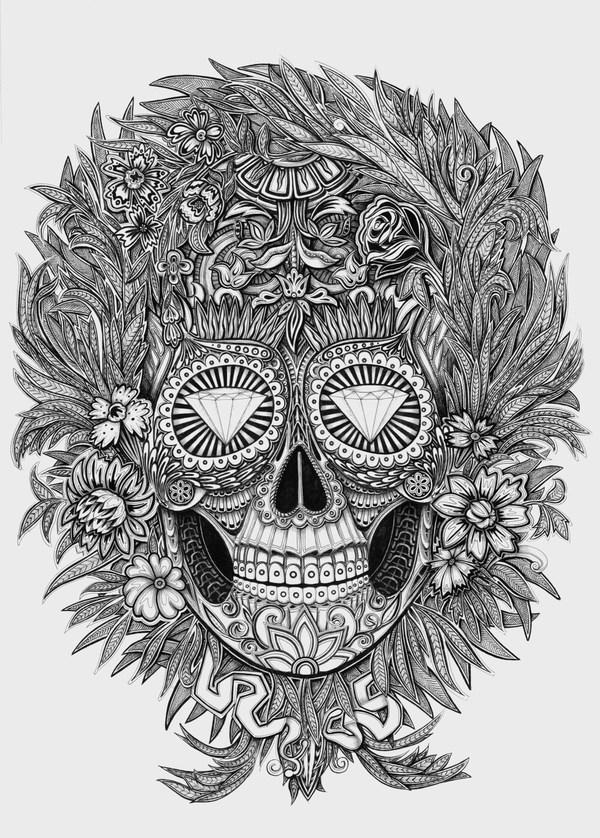 Meksikietiška kaukolė