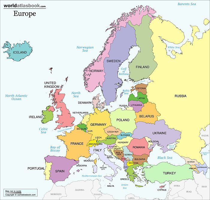 political-map-of-europe