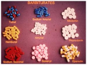 barbituratu pavidalai