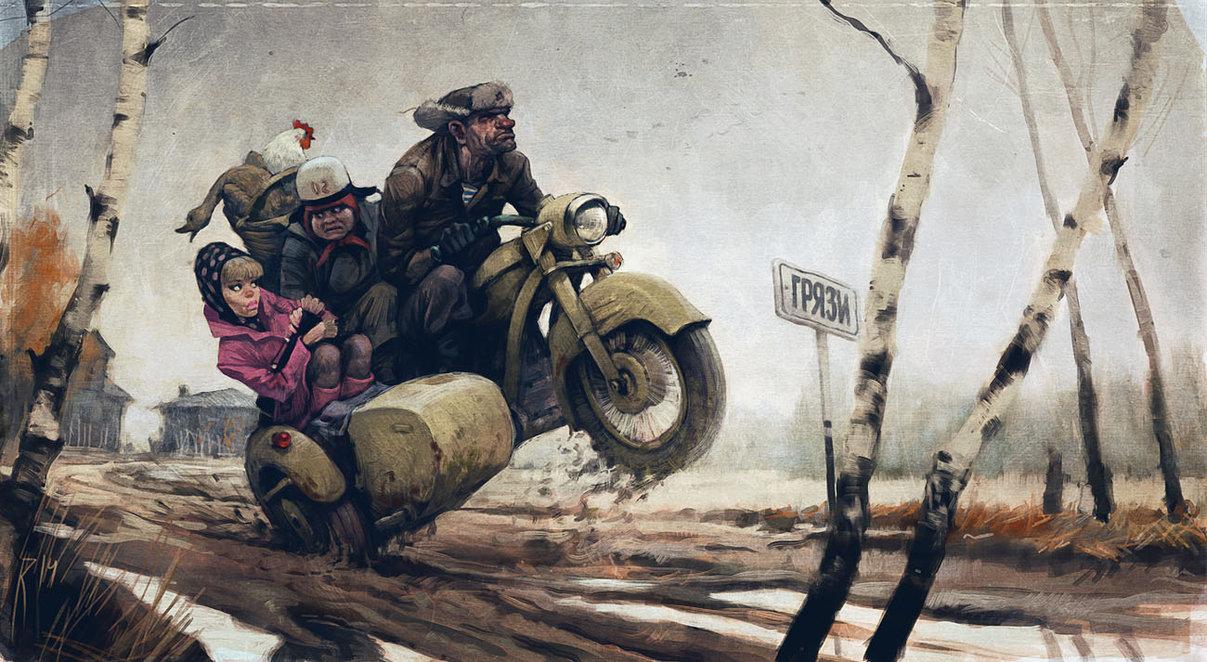 Waldemar_Kazak_-_highway_to_town