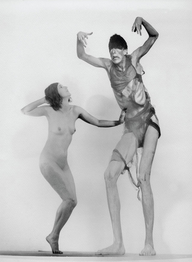 William_Mortensen_-_Nude with Stretched Figure