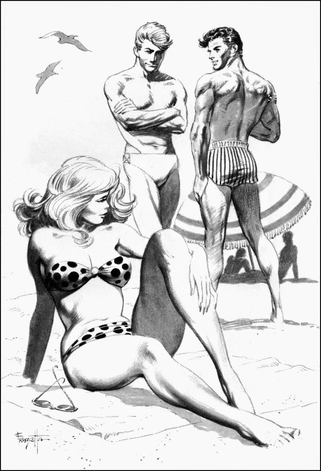 комиксы эротические черно белые № 2816  скачать
