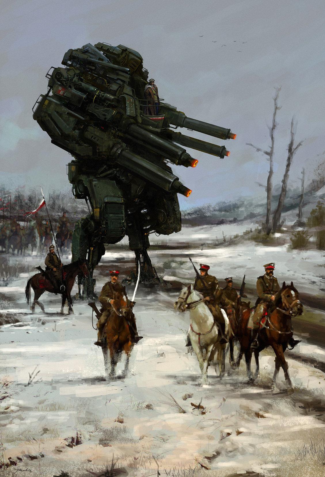 Jakub_Rozalski_-_1920 Warlord