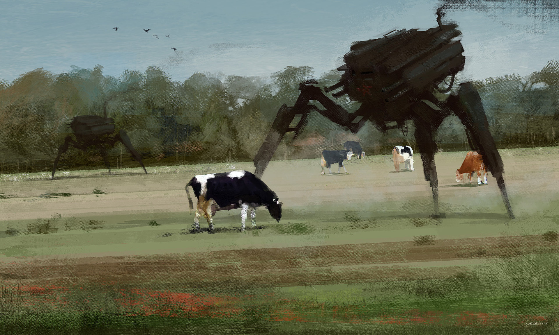 Jakub_Rozalski_-_1920 you shall not pass