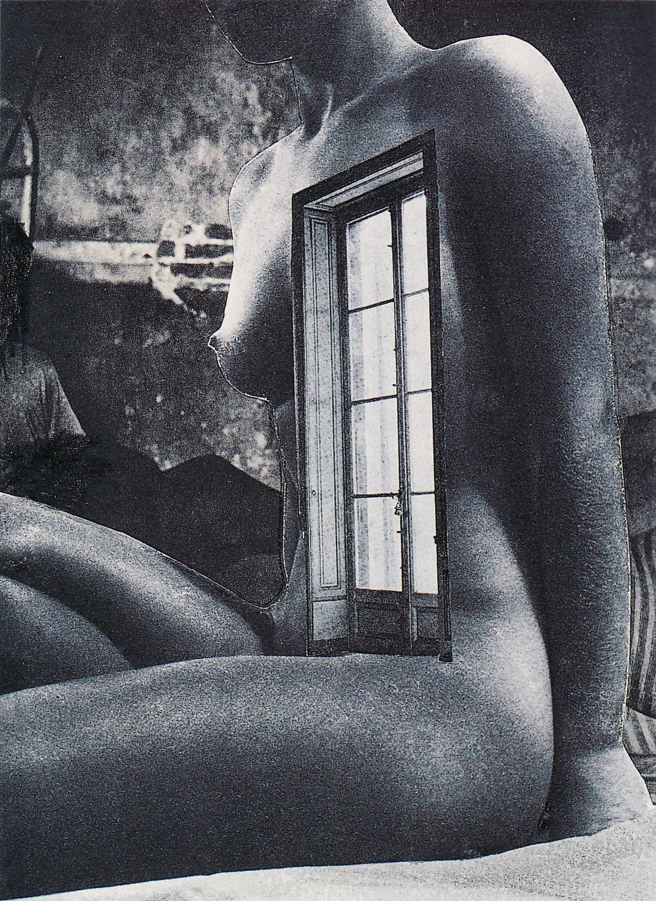 Karel Teige, collage 323, 1946. Source: Karel Teige.