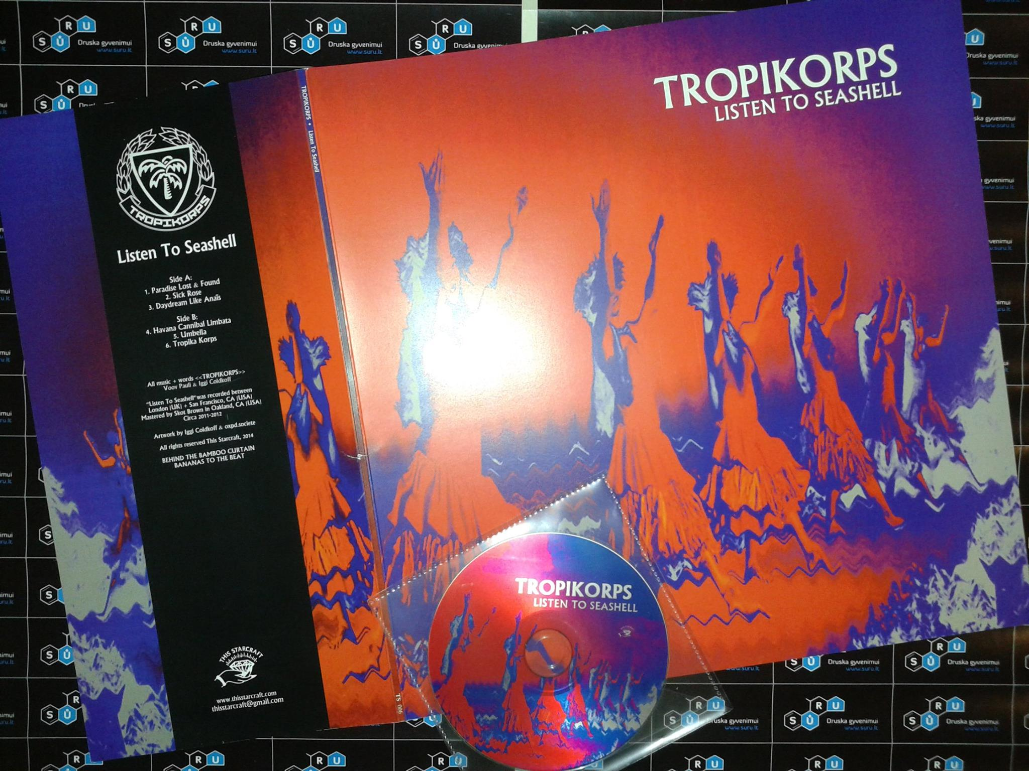 Tropikorps_-_Listen_To_Seashell_promo