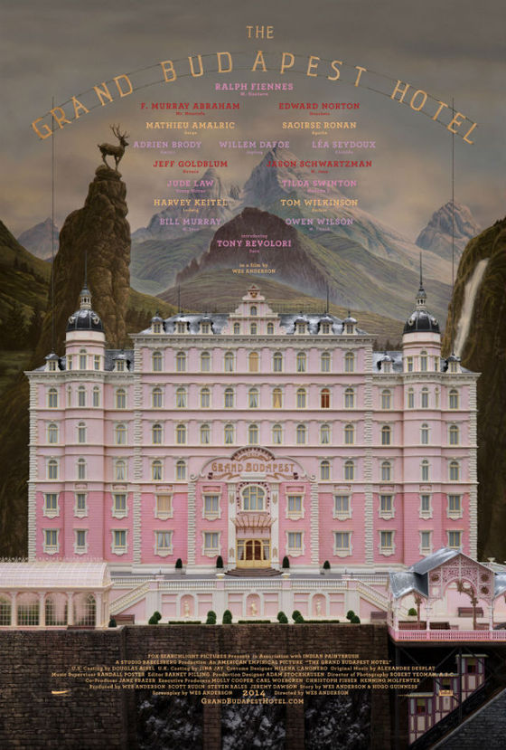 01 The Grand Budapest Hotel