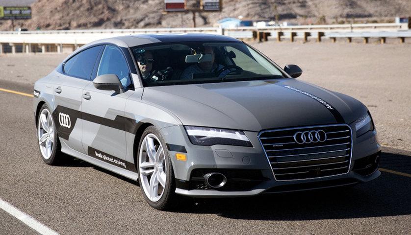 Štai taip neišskirtinai atrodo pirmoji bepilotė Audi