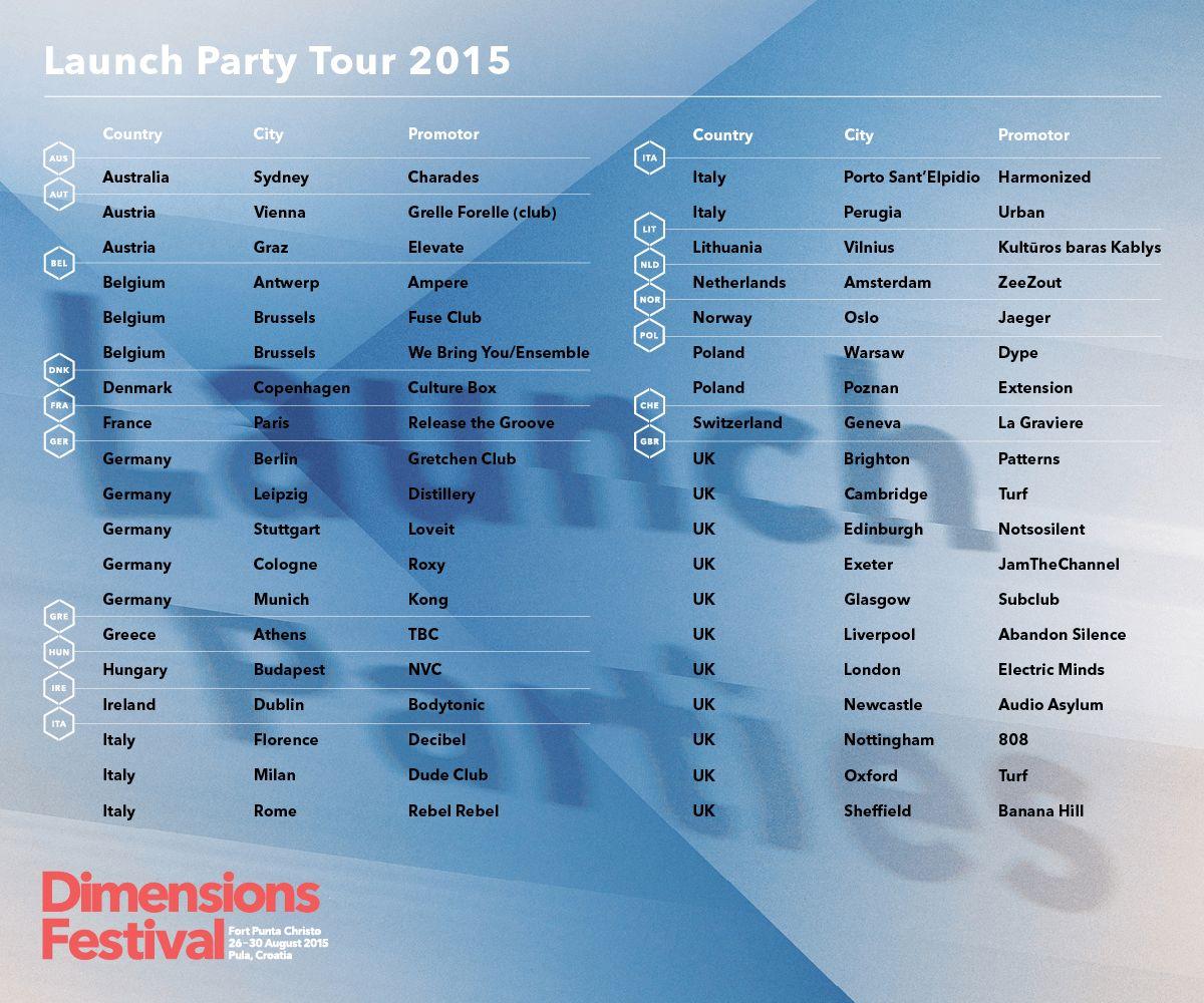 Dimensions_festival_launch party tour