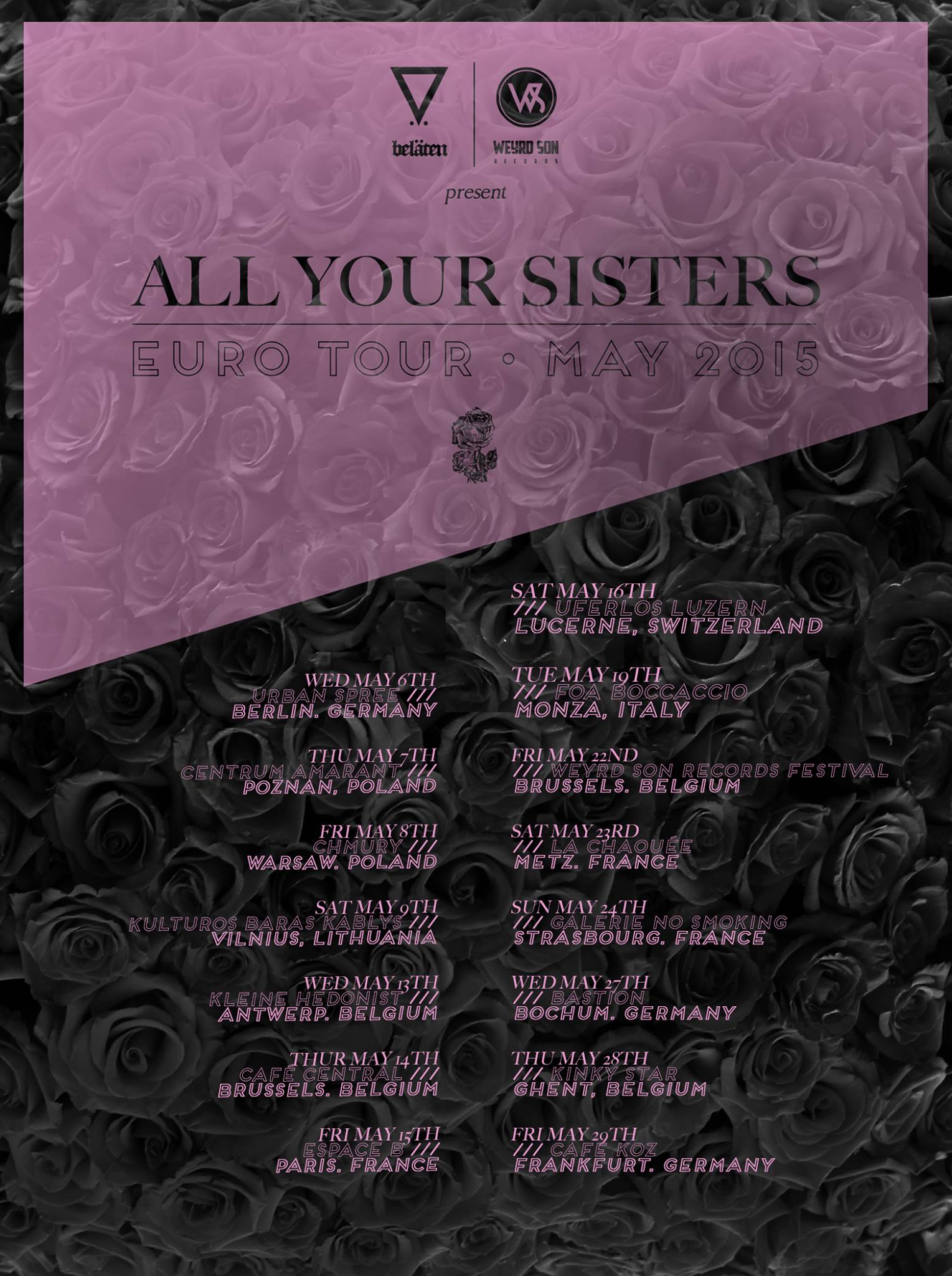 All_Your_Sisters_-_euro_tour_2015