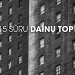 SURU.lt 2015 top 20 dainos