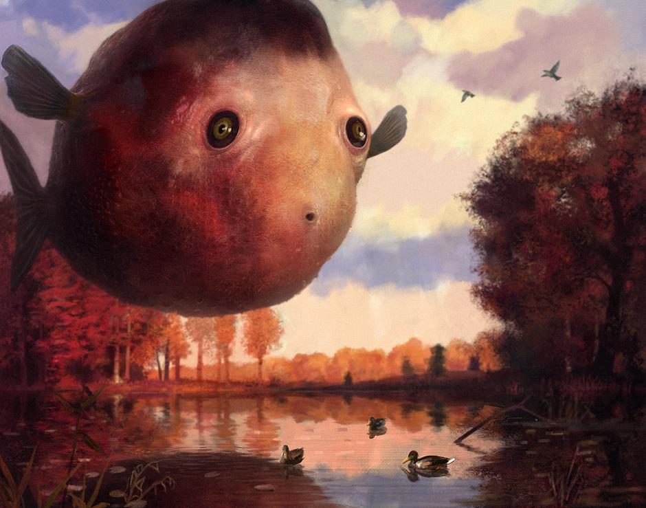Klim_Novoseltsev_-_autumn fish