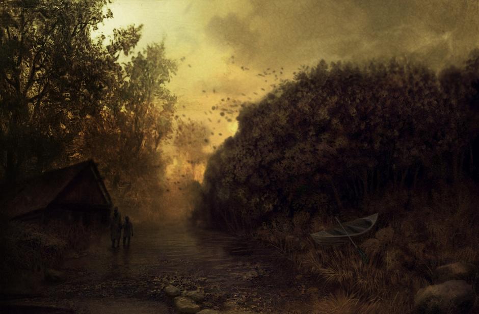 Klim_Novoseltsev_-_the house of the fisherman