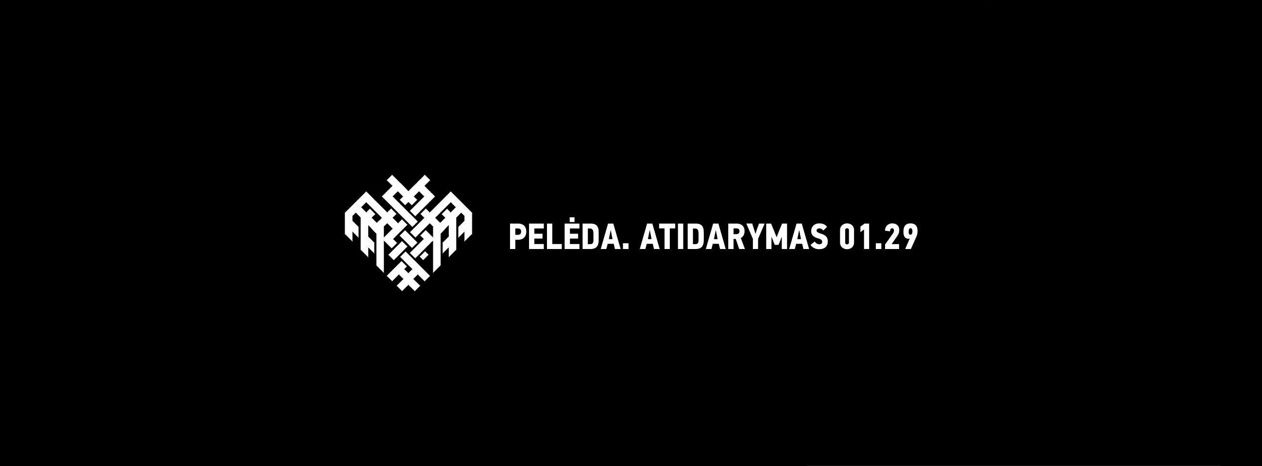 Peleda_atidarymas_cover