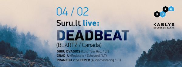 Suru.lt live_-_Deadbeat