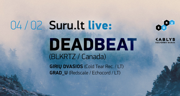 Suru.lt live_-_Deadbeat