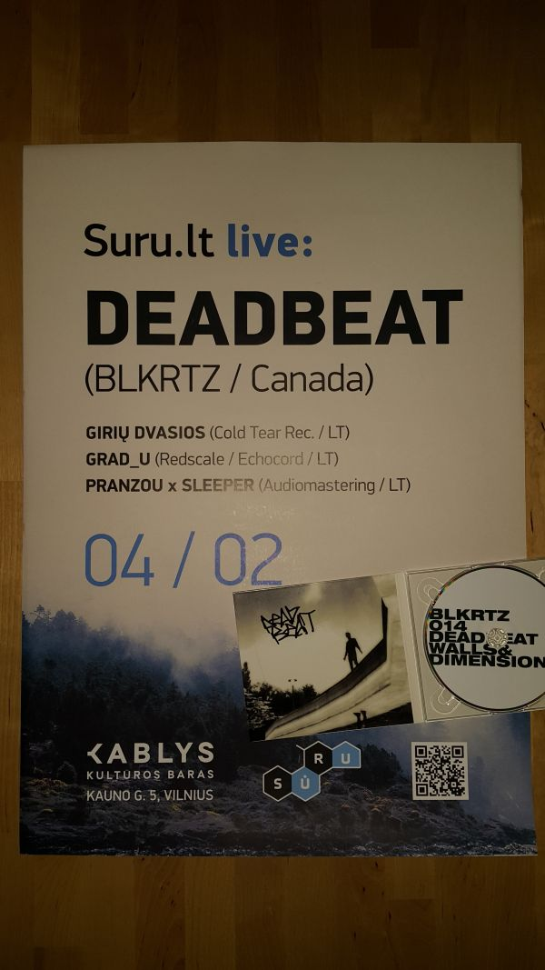 Suru.lt live Deadbeat