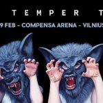 2 kvietimai ir The Temper Trap albumas su parašais